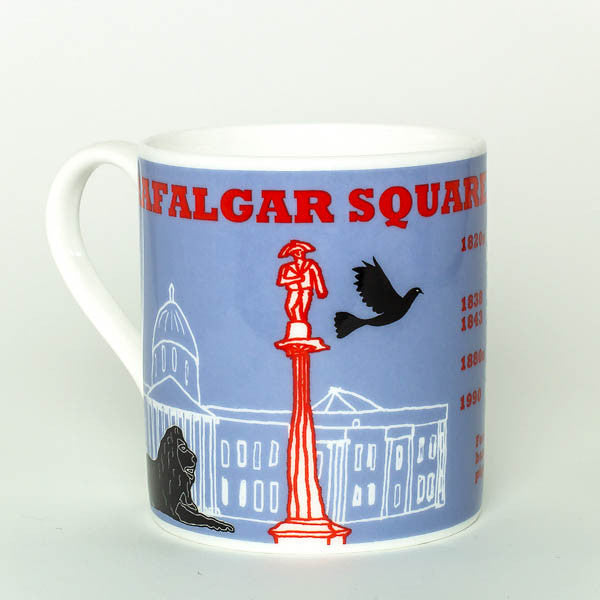Trafalgar Square mug by Cole of London