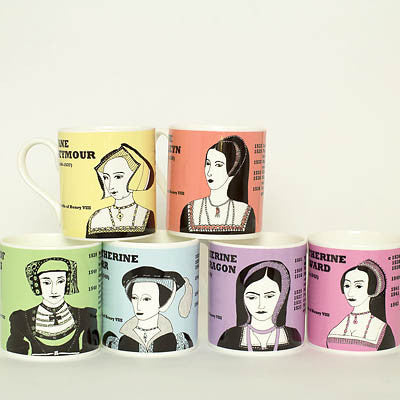 Boxed set: The wives of Henry VIII (mugs)