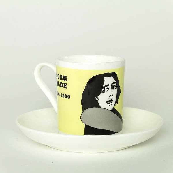 Oscar Wilde espresso cup by Cole of London