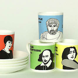 Wit and Wisdom espresso cups by Cole of London