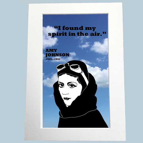 Amy Johnson Print