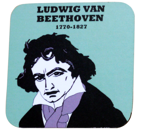 Beethoven coaster