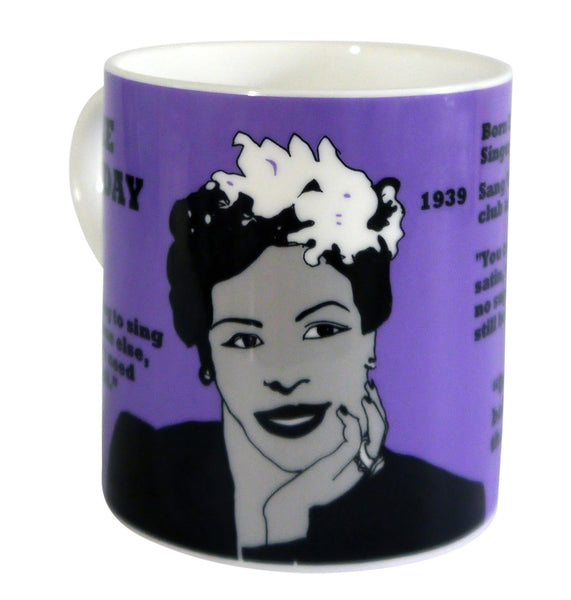 Billie Hoiday mug