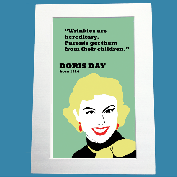 Doris Day Print