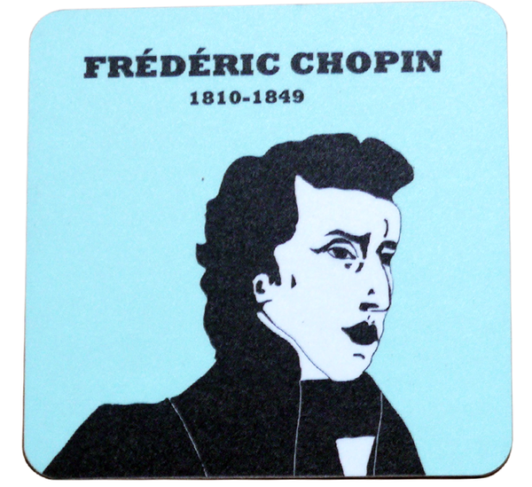 Chopin coaster