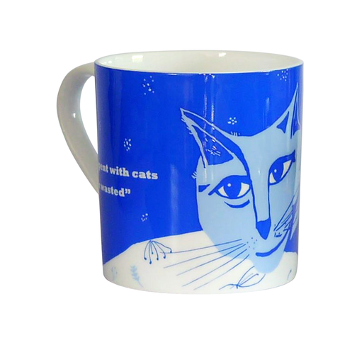 Freud on Cats mug - large size