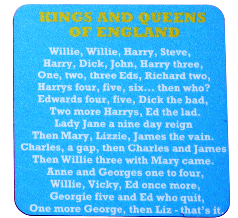 Kings and Queens coaster