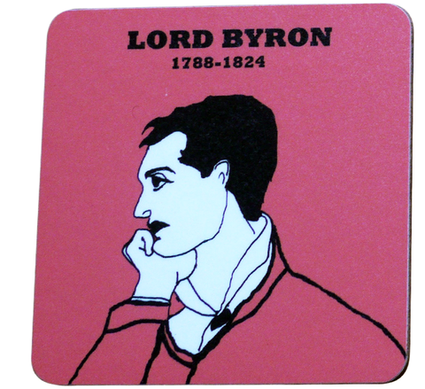 Lord Byron coaster.