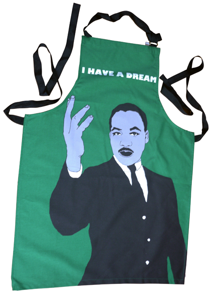 Martin Luther King apron
