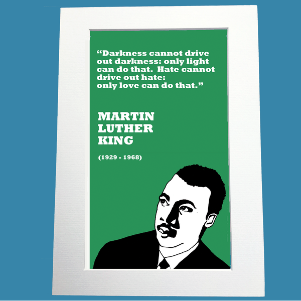 Martin Luther King Print