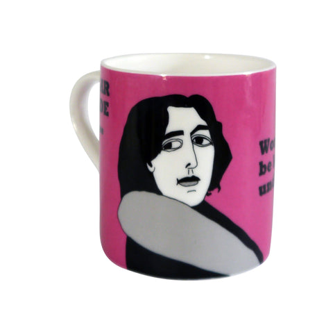 Oscar Wilde mug (on women)