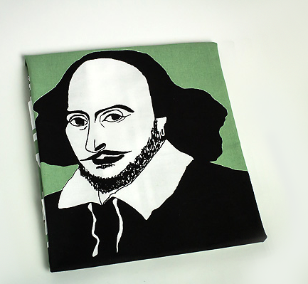 William Shakespeare tea towel by Cole of London