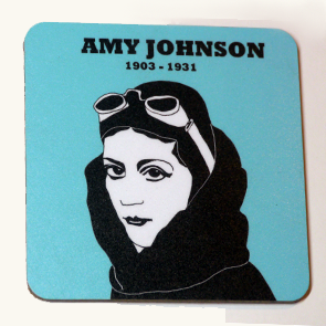 Amy Johnson coaster