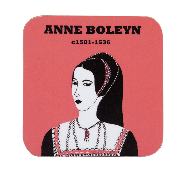 Anne Boleyn coaster by Cole of London