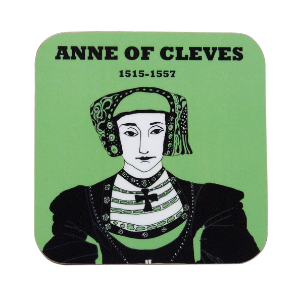 Anne of Cleves coaster by Cole of London