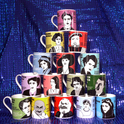 BOXED SET OF 6 MUGS - YOU CHOOSE YOUR OWN