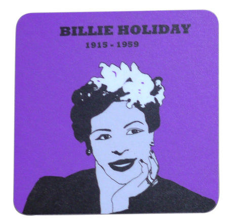 Billie Holiday coaster