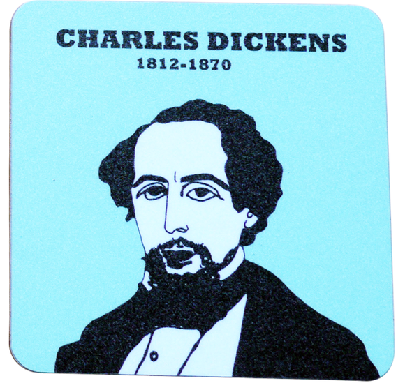 Charles Dickens coaster