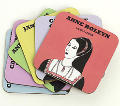 Cole of London coasters: wives of Henry VIII