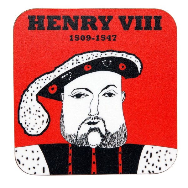 Tudor coasters: buy individually or in a set