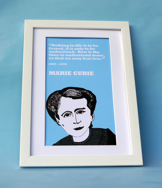 Marie Curie Print