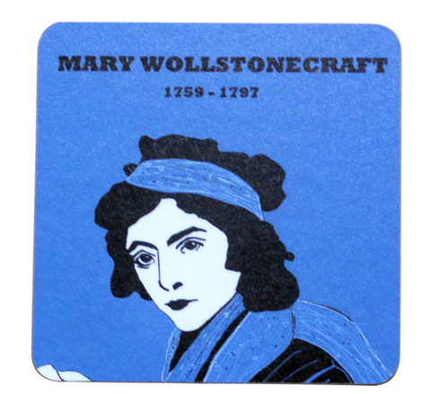 Mary Wollstonecraft coaster