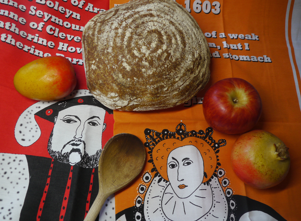 Tudor tea towel special offer