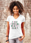 Limited Edition I Have A Dream What's Yours? White Tee