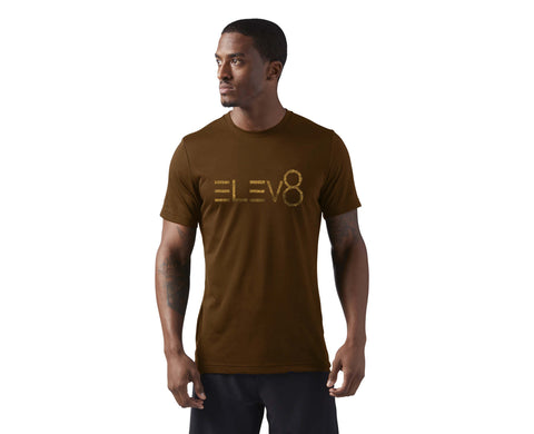 Elev8 Brown Tee