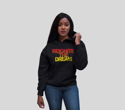 Reignite The Dream Fade Hoodie Women