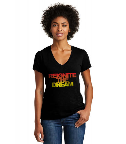 Reignite The Dream Fade Women's Tee
