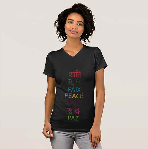Peace Languages Tee