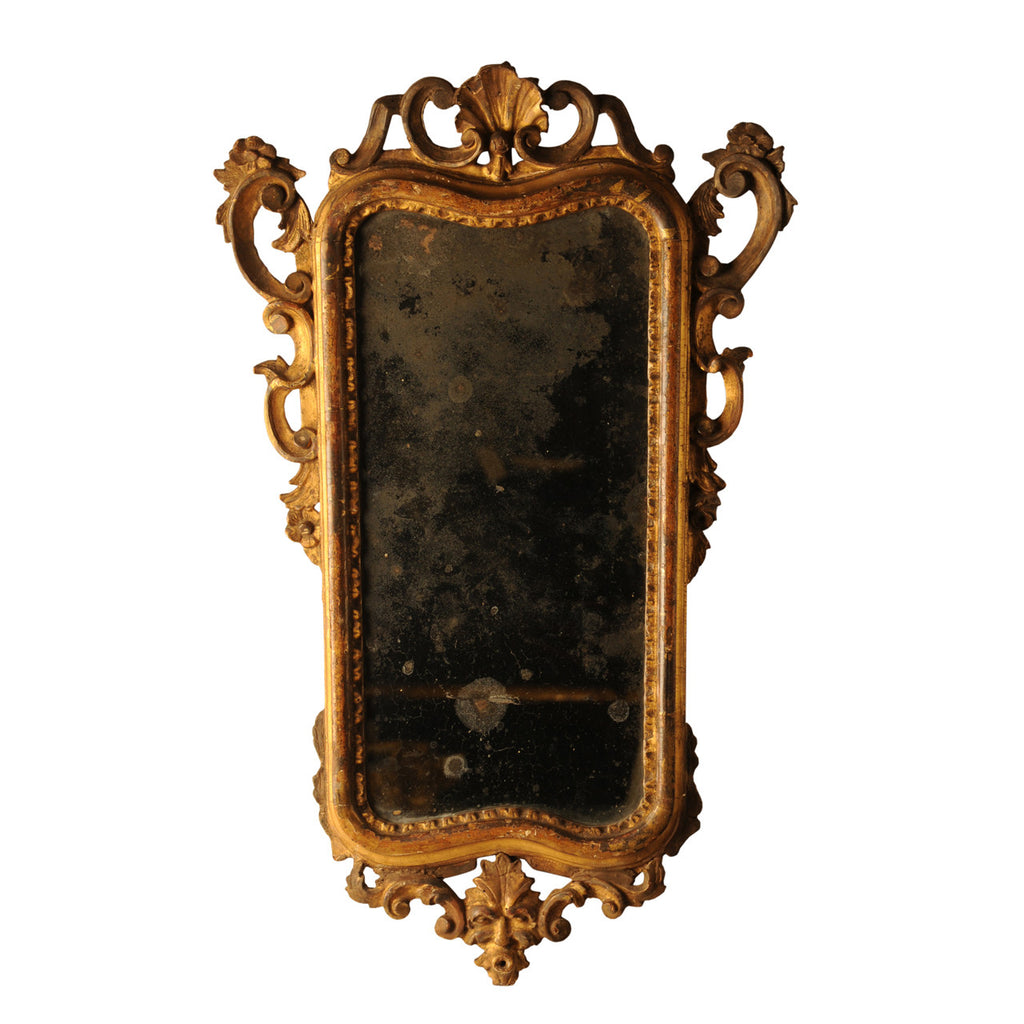 Italian giltwood girandole (mirror), 18th century, Mirror - Kate Thurlow | Gallery Forty One