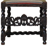 Pair of Walnut Carolean style hall chairs, English 19th century, Seating - Kate Thurlow | Gallery Forty One