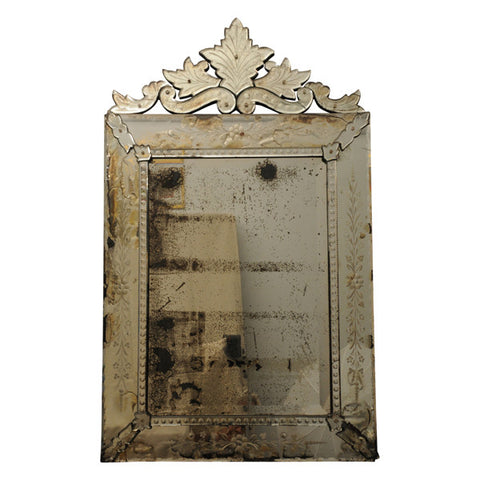 Venetian margin mirror, circa 1900