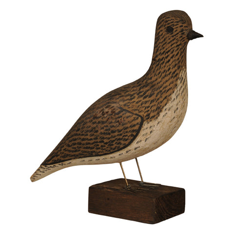 French folk art decoy partridge, early 20th century