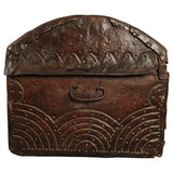 Leather covered domed chest, Spain, circa 1700, Caskets & Boxes - Kate Thurlow | Gallery Forty One