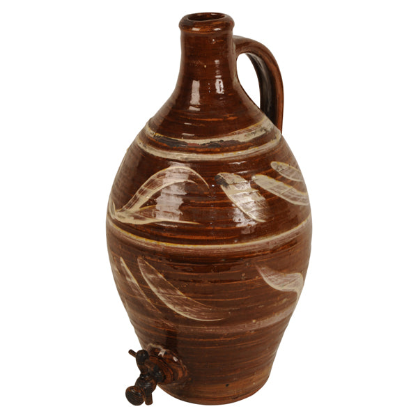 Slipware cider flagon, James Arnold Martin, British 1960s