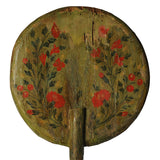 Processional Staff with painted decoration, Spain, circa 1700, Decorative Object - Kate Thurlow | Gallery Forty One