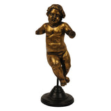 Gilt bronze putto, Italy, late 16th century, Decorative Object - Kate Thurlow | Gallery Forty One