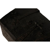 Leather covered wooden casket with ironwork, French circa 1600, Caskets & Boxes - Kate Thurlow | Gallery Forty One