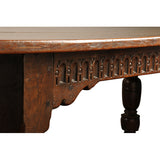 Oak refectory table, English, Charles IInd circa 1660, Table - Kate Thurlow | Gallery Forty One