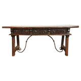 Walnut library table, Spain circa 1660, Table - Kate Thurlow | Gallery Forty One