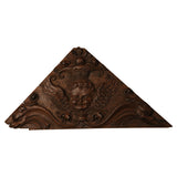Two oak triangular panels carved with angels, Dutch mid 17th century, Architectural - Kate Thurlow | Gallery Forty One