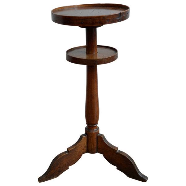 Fruitwood candlestand, French, 18th century circa 1750, Table - Kate Thurlow | Gallery Forty One