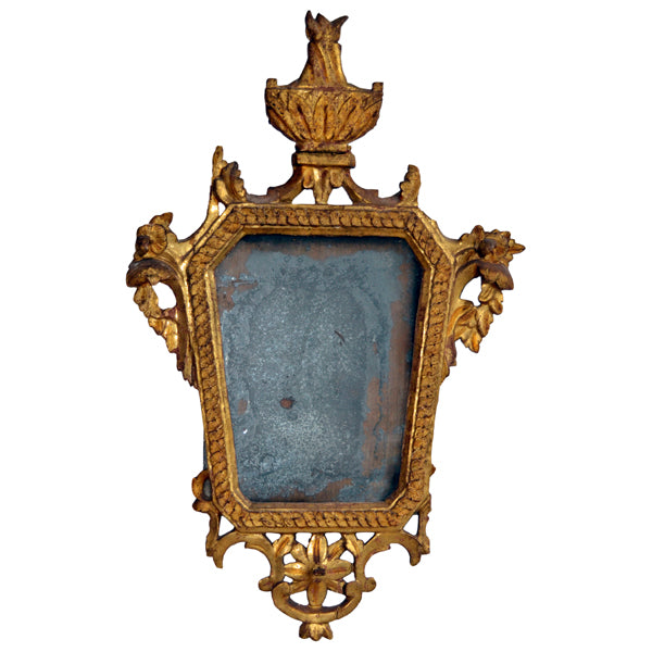 Giltwood mirror with the original glass, French, Louis XV, 18th century, Mirror - Kate Thurlow | Gallery Forty One