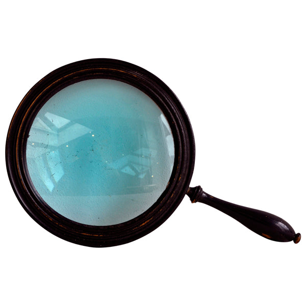 Victorian ebonised beech magnifying glass., Decorative Object - Kate Thurlow | Gallery Forty One