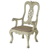 Ivory painted armchair, German mid 18th century, Seating - Kate Thurlow | Gallery Forty One