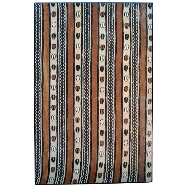 "Large printed ""mud"" cloth, Mali, 20th century"
