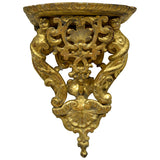Giltwood wall bracket, Italy 18th century